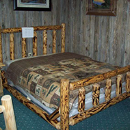 Log Bed - Dirty-Brown-Cover
