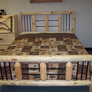 Iron Accent Bed Queen $699 - King $799