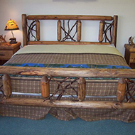 Laurel bed Stained Queen$699-King$750